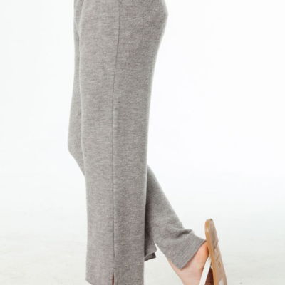 Love Knit Cropped Kick Flare Hi-Lo Pant