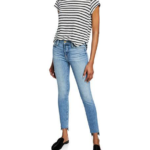 Le High Skinny Raw Stagger