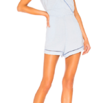 Trimmed Cross Front Romper