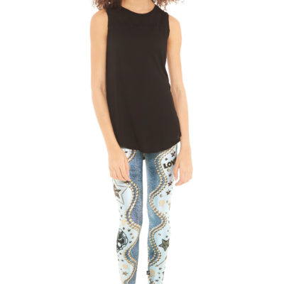 Necklace Swirl Leggings