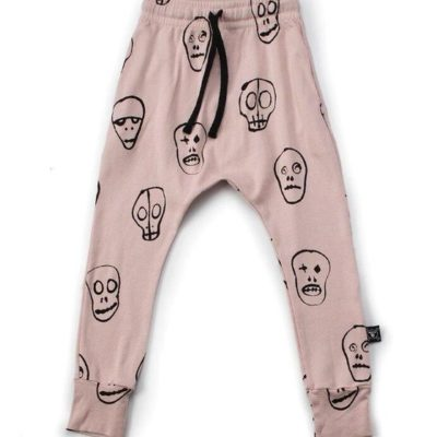 Skull Mask Light Baggy Pants