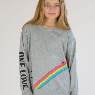 Rainbow One Love Sweatshirt