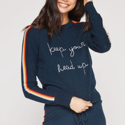 Keep Your Head Up Crewneck Sweater