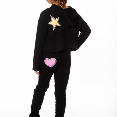 Glitter Fleece Sweatpant
