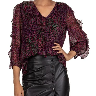Genny Ruffle Blouse