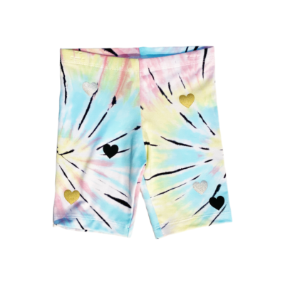 Tie Dye Bike Short
