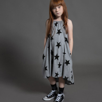 Star Collar Dress
