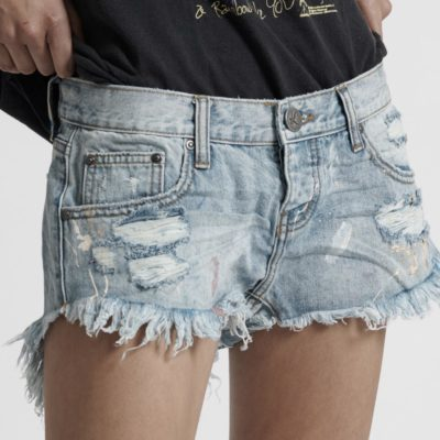 Artiste Bonita Low Waist Denim Shorts