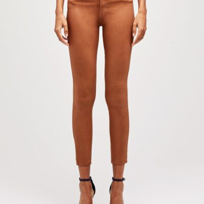 Margot Coated High Rise Skinny