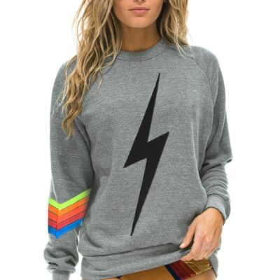 Bolt Stitch Chevron 5 Crew Sweatshirt