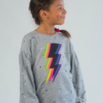 Bolt Splatter Sweatshirt