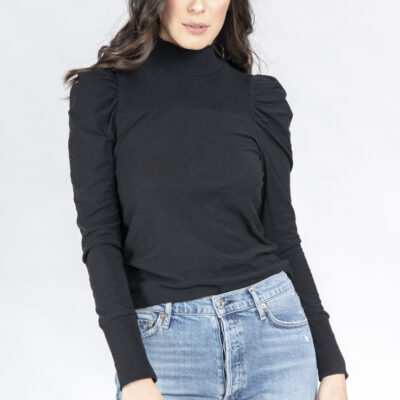 Zahara Femme Mock Neck Long Sleeve