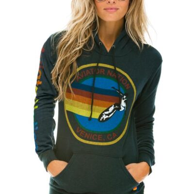 Classic Aviator Nation Pullover Hoodie