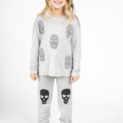 All Over Skull Long Sleeve