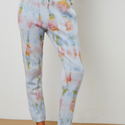Hallie Tie Dye Fleece Pant