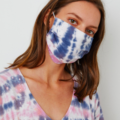 Izzie Tie Dye Cotton Mask