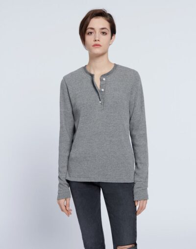 Thermal Henley Long Sleeve
