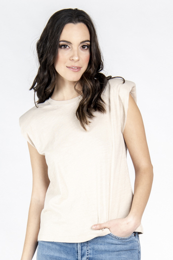 Leo Padded Sleeveless Top