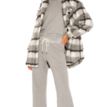 The Wide Leg Cropped Sweatpant
