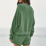 Ajia French Terry Pullover