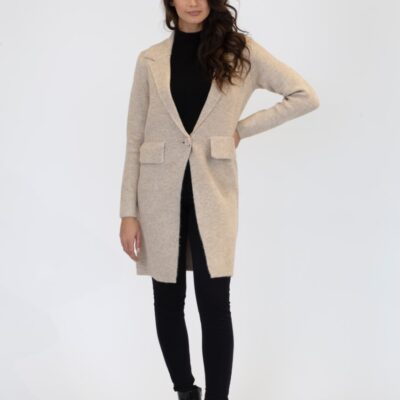 Fiona Fitted Knit Coat